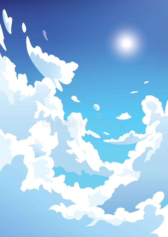 Anime Clouds Stock Illustrations 1 590 Anime Clouds Stock Illustrations Vectors Clipart Dreamstime