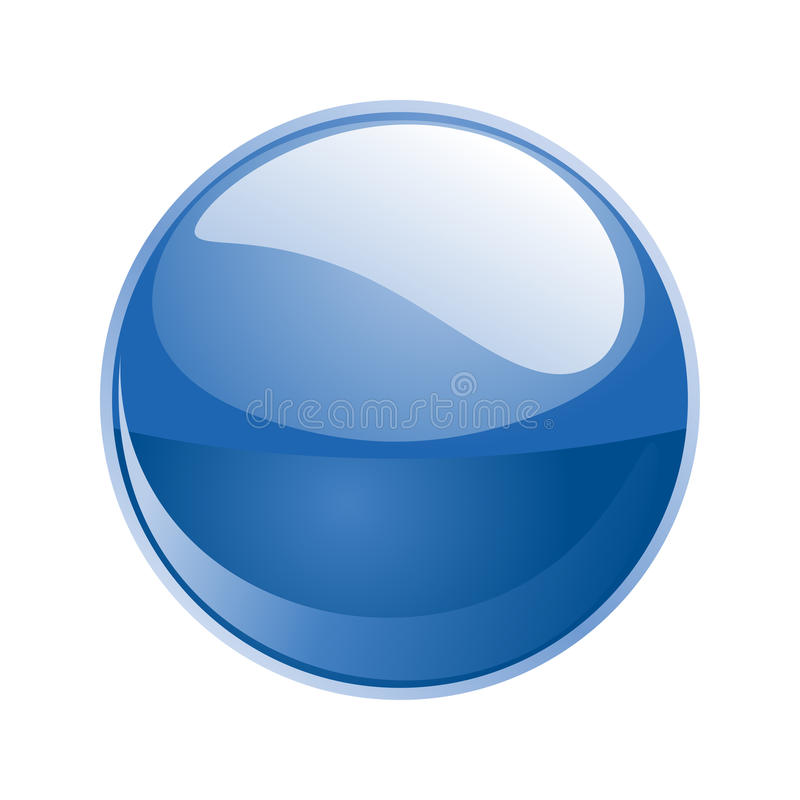 Free Vector Blue Sphere Royalty Free Stock Photo - 11746495