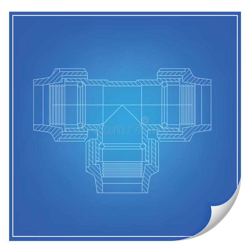 Download Vector Blueprint Engineering Stock Vector - Image: 24285117