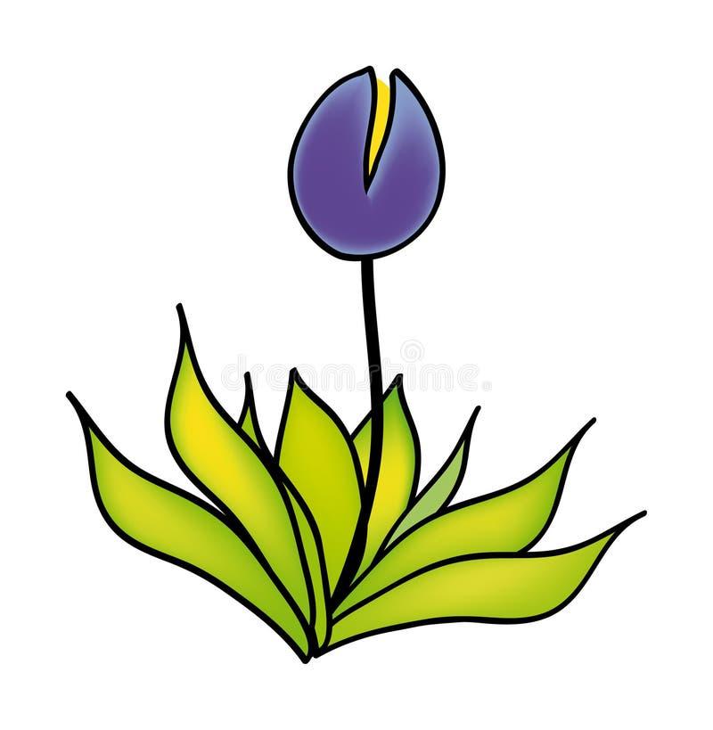 Vector Blume stock abbildung