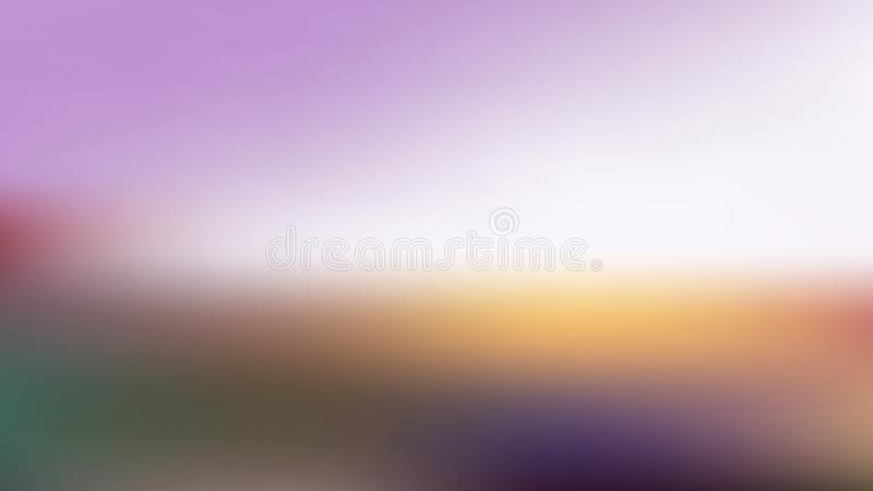 Vector blur background from flower field landscape vector illustration