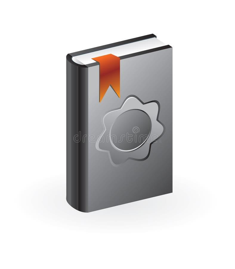 Vector boek vector illustratie