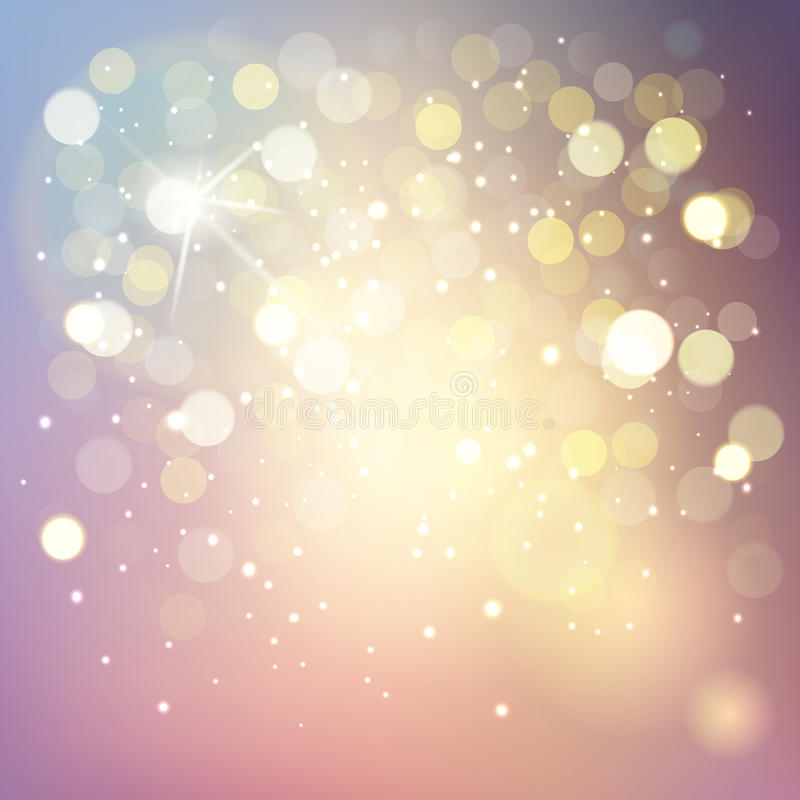 Vector bokeh background, abstract with defocused lights. Vector bokeh background, abstract with defocused vector illustration