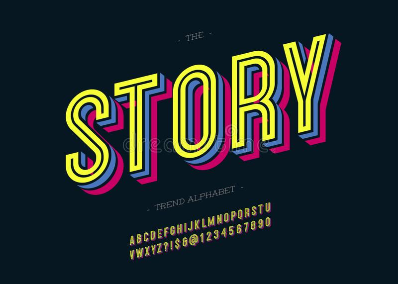 Cool Story Fun Typography Design, For T Shirt, Poster