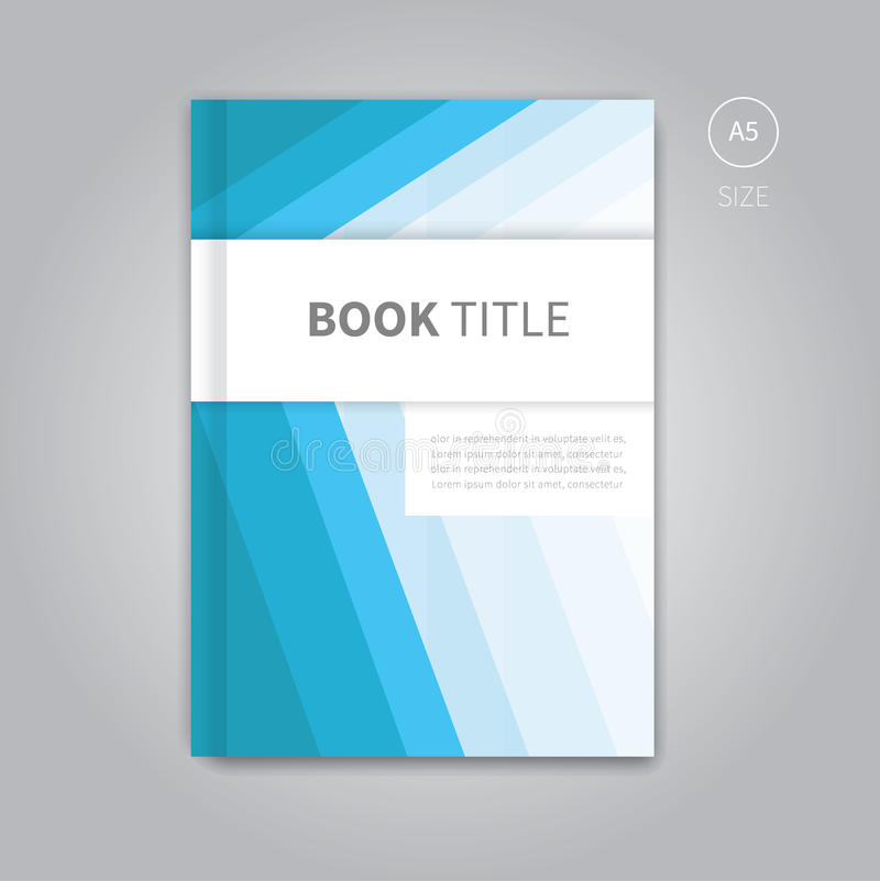Book Cover Design Templates: Vector Book Cover Template Design Stock Vector