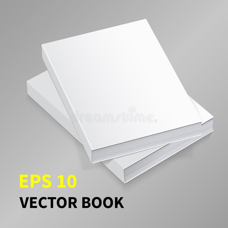 Vector Book-01 de papel imagen de archivo libre de regalías