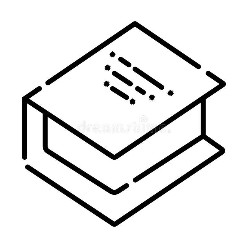 Vector book Icon stock illustration