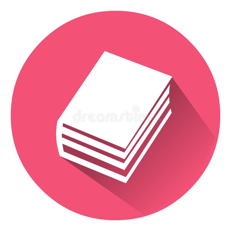 Book icon.Vector illustration of book icon.Vector book. vector illustration