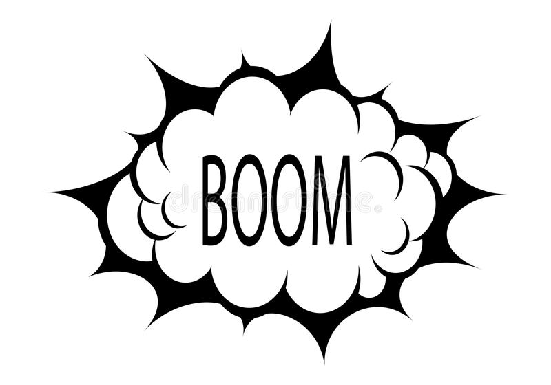 Download Vector Boom Cloud Stock Photography - Image: 31515742