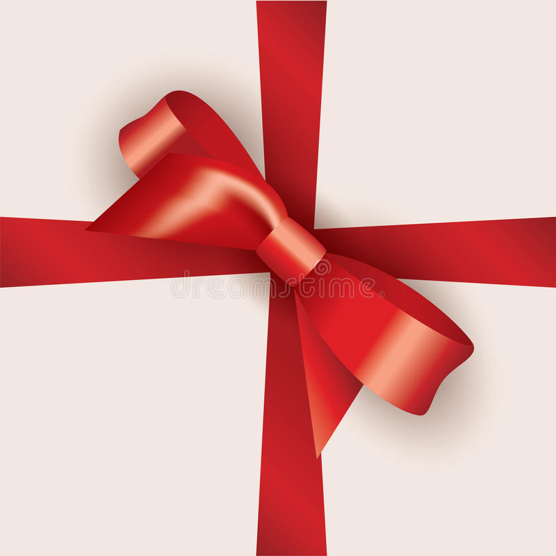 Download Vector bow and ribbon stock vector. Image of christmas - 28858704