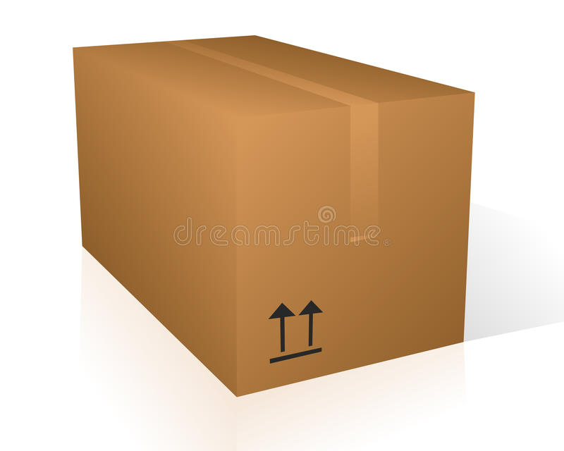 Download Vector box stock vector. Illustration of packed, delivery - 11477762