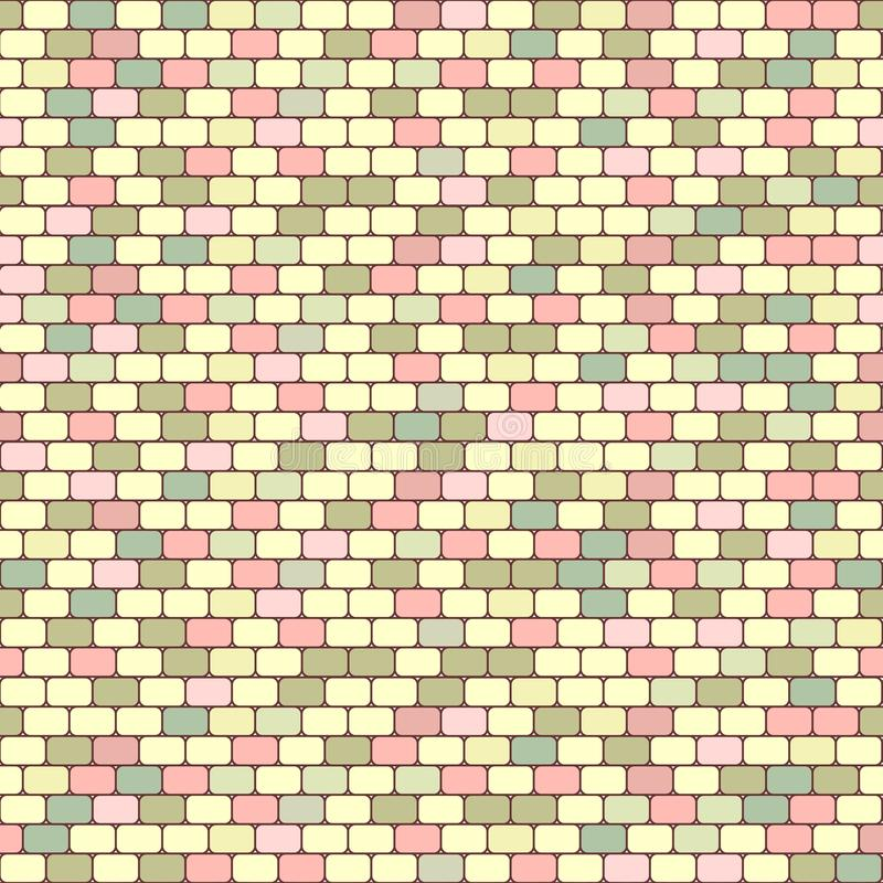 Vector bright tile royalty free illustration
