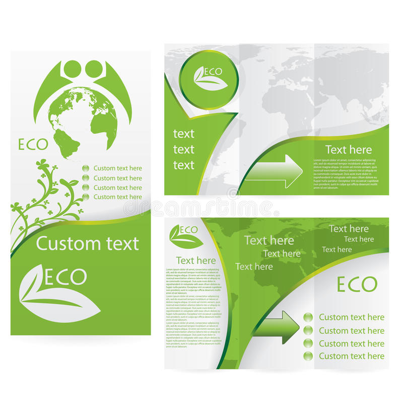Vector Brochure Layout Design Stock Vector Image - Custom brochure templates