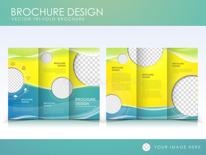 Vector Brochure Layout Design Template Stock Vector - Illustration ...