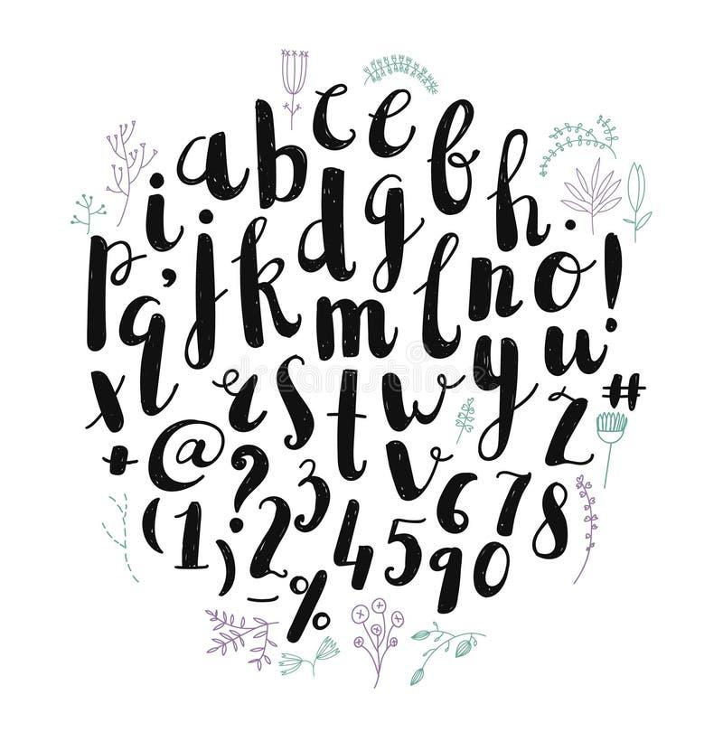 Amazing Font Art Painting Typeface