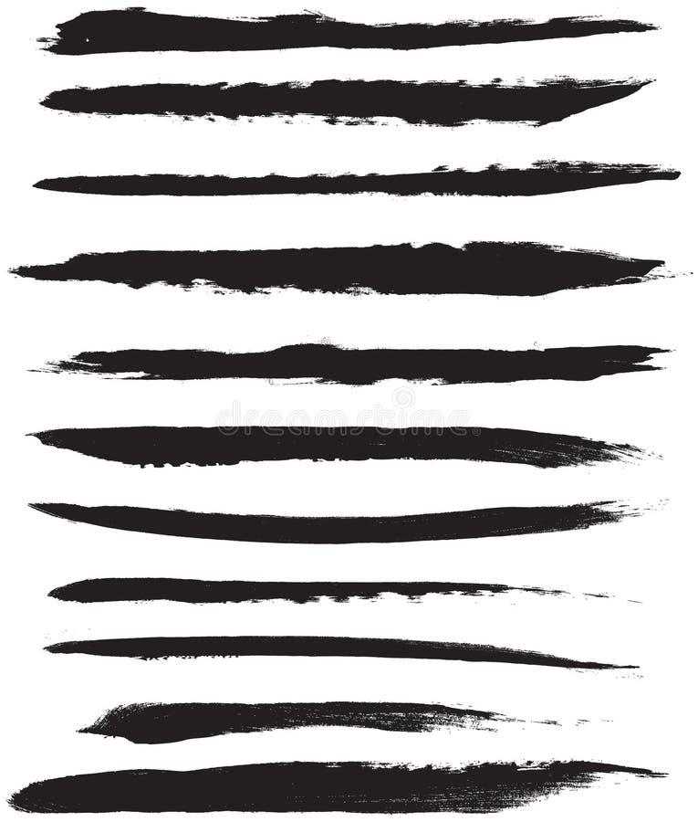 Download Vector Brush Strokes stock vector. Illustration of element - 19519049