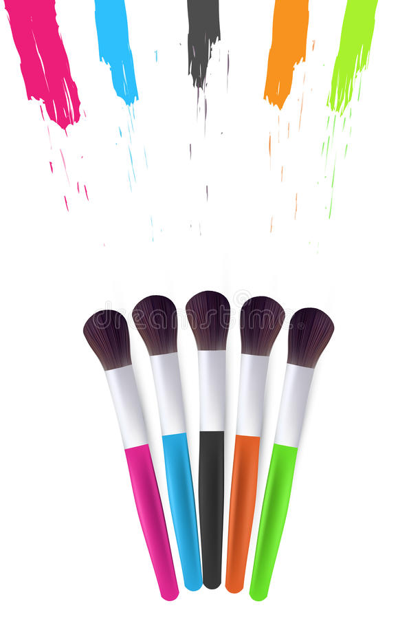 Download Vector Brushes Illustration Stock Vector - Image: 9652799