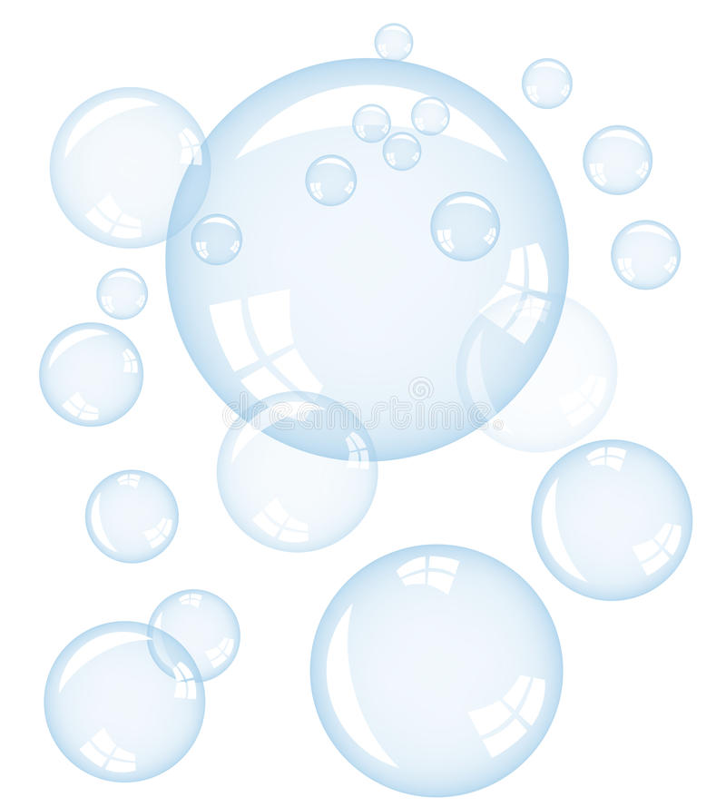 Vector Bubbles Royalty Free Stock Photo