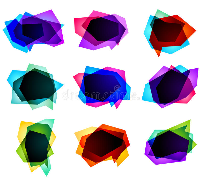 Vector Bubbles For Speech Royalty Free Stock Photography