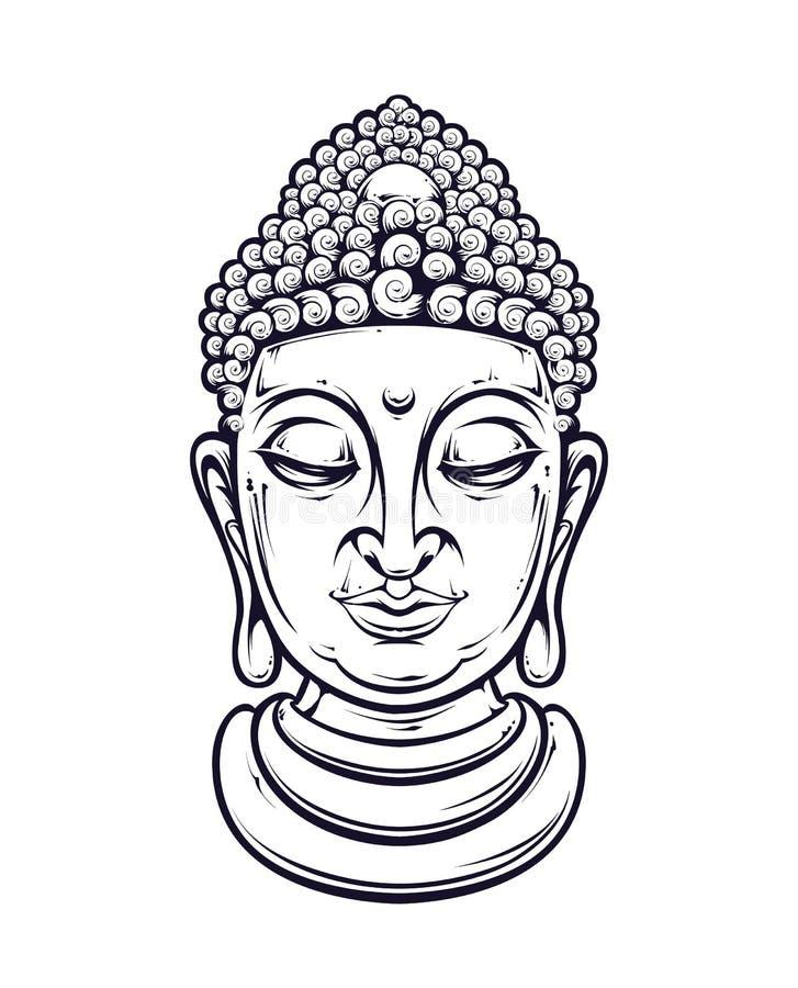 vector buddha stock illustration illustration of print 53369831. Black Bedroom Furniture Sets. Home Design Ideas