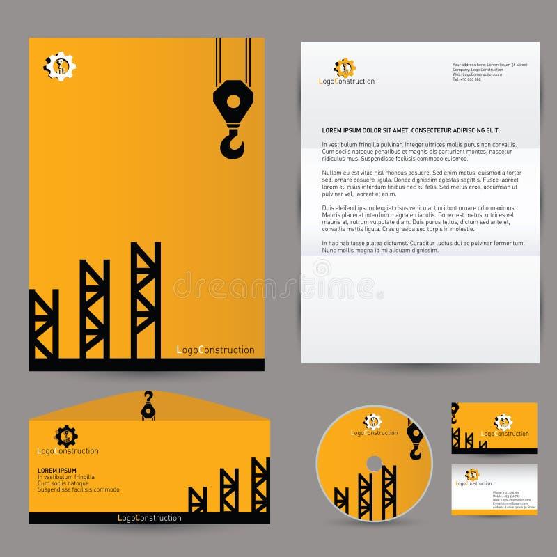 Vector Building Corporate Branding Identity Stock Vector ...