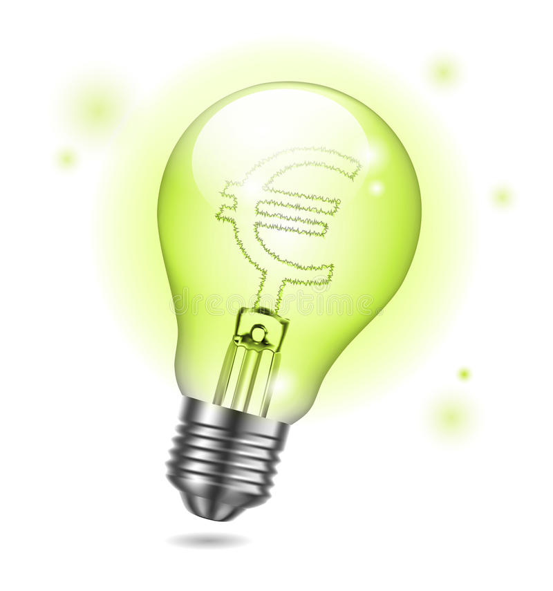 Vector Bulb Royalty Free Stock Images