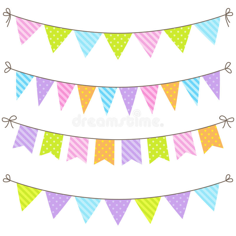 Free Vector Bunting Stock Image - 56664401