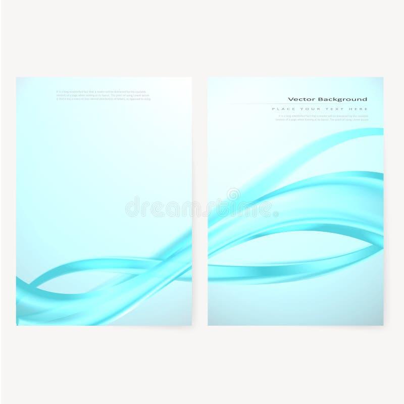 Vector Business Brochure Flyer Template Stock Vector Illustration