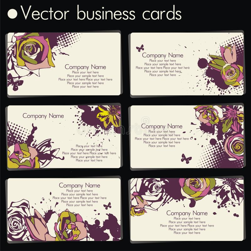 Free Vector Business Card Stock Images - 18145374