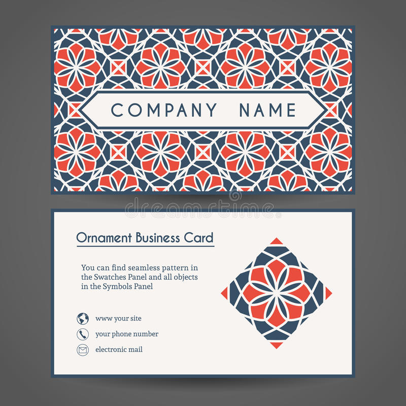 Vector business card template stock vector illustration of flower download vector business card template stock vector illustration of flower identity 63315858 colourmoves