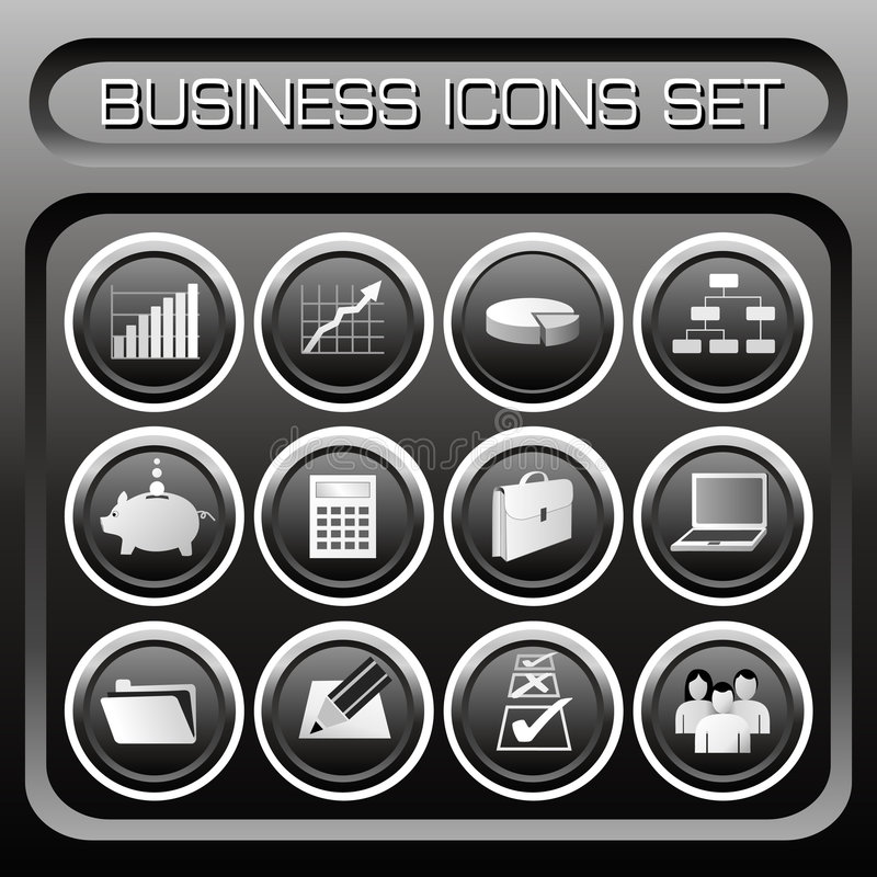 Vector Business icons set. Business icons set - VECTOR! Additional format Eps8. (Check out my portfolio for other icons set