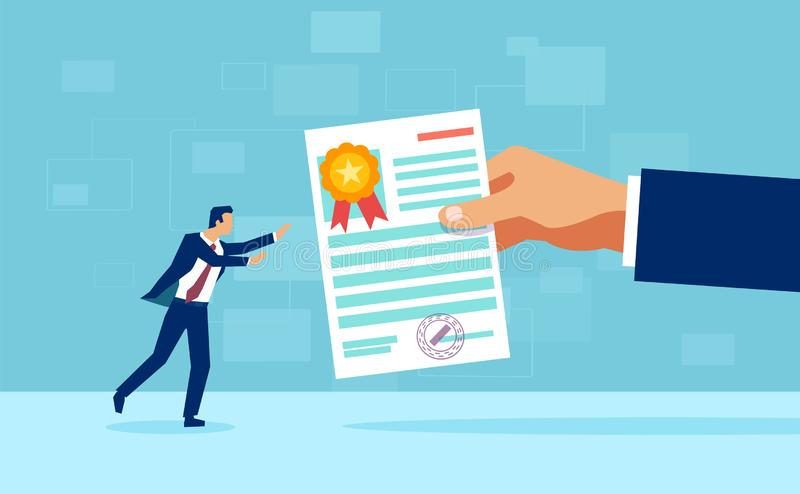Receiving Certificate Stock Illustrations – 187 Receiving Certificate Stock  Illustrations, Vectors & Clipart - Dreamstime