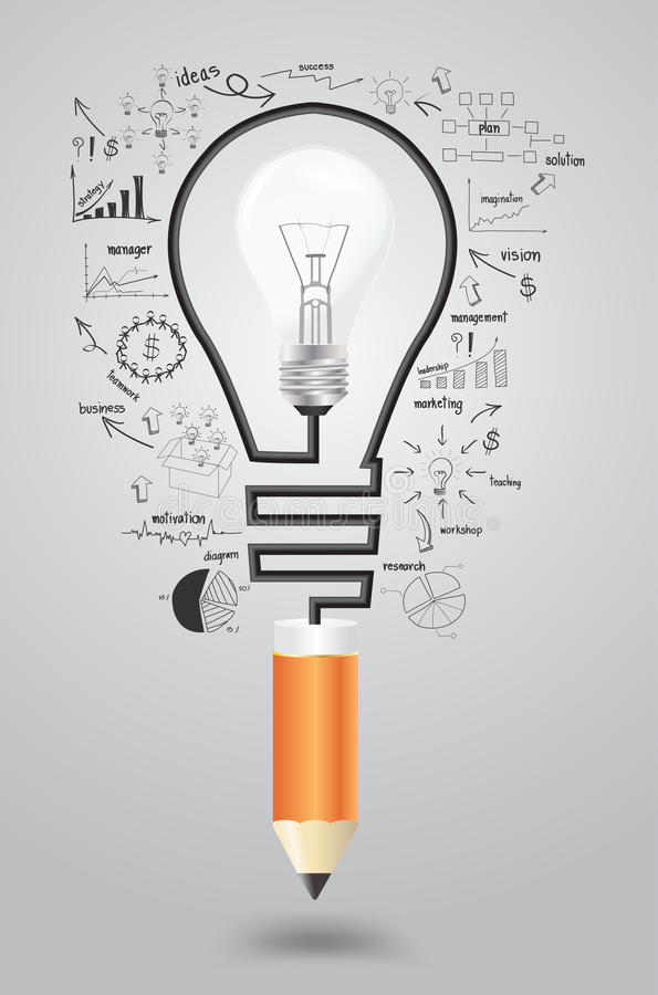 Free Vector Business Strategy Plan Concept Idea Royalty Free Stock Photo - 34298095