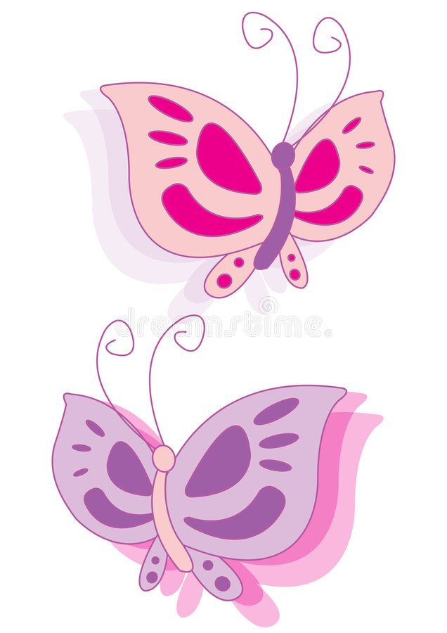Download Vector Butterfly stock vector. Image of model, wings, smile - 3687555