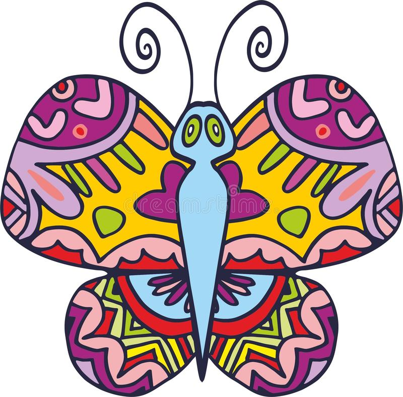 Vector butterfly 1 royalty free stock photos