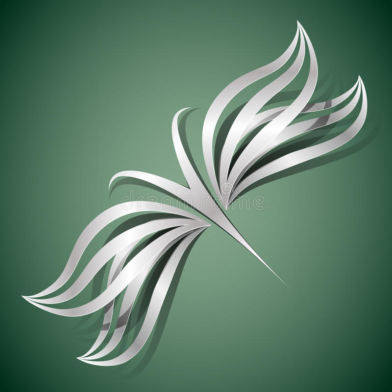 Download Vector butterfly concept stock vector. Image of dragonfly - 25355846
