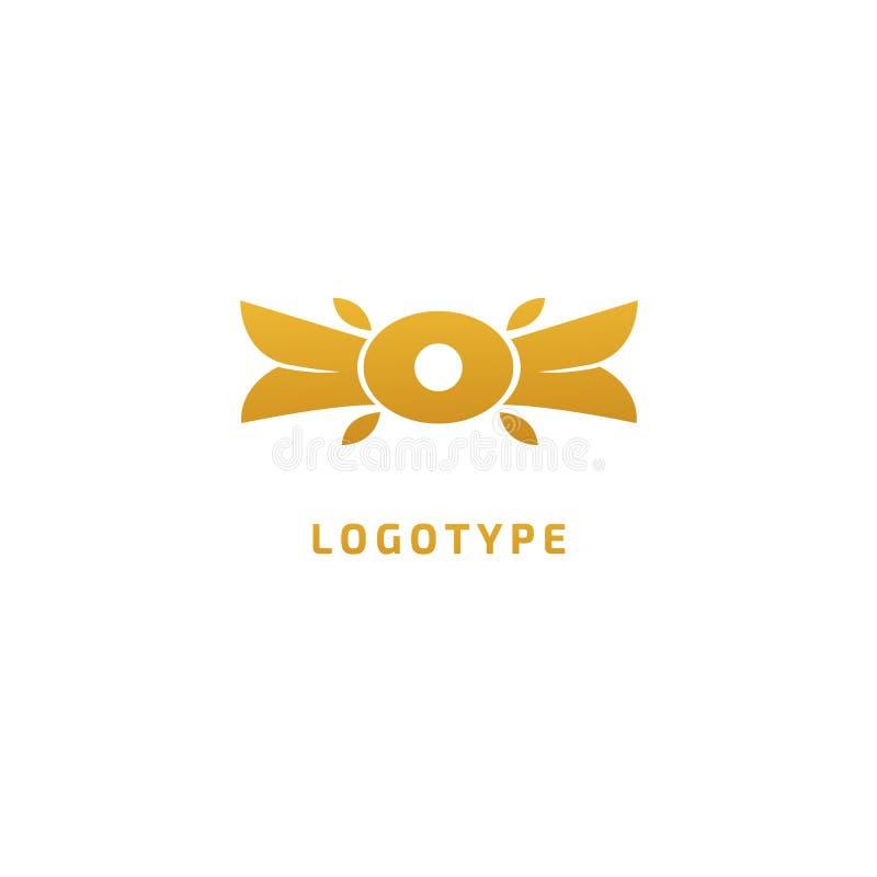 Vector céltico del nudo Símbolo ornamental del tatuaje Emblema retro del círculo de lujo Logotipo escocés tradicional del vector  ilustración del vector