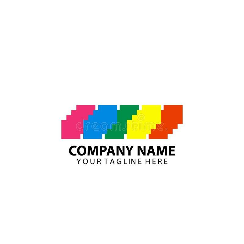 Vector cúbico del indpiration de Logo Design libre illustration
