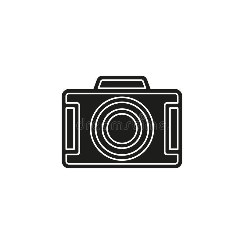 vector Camera icon - digital photography symbol - image illustration vector illustration