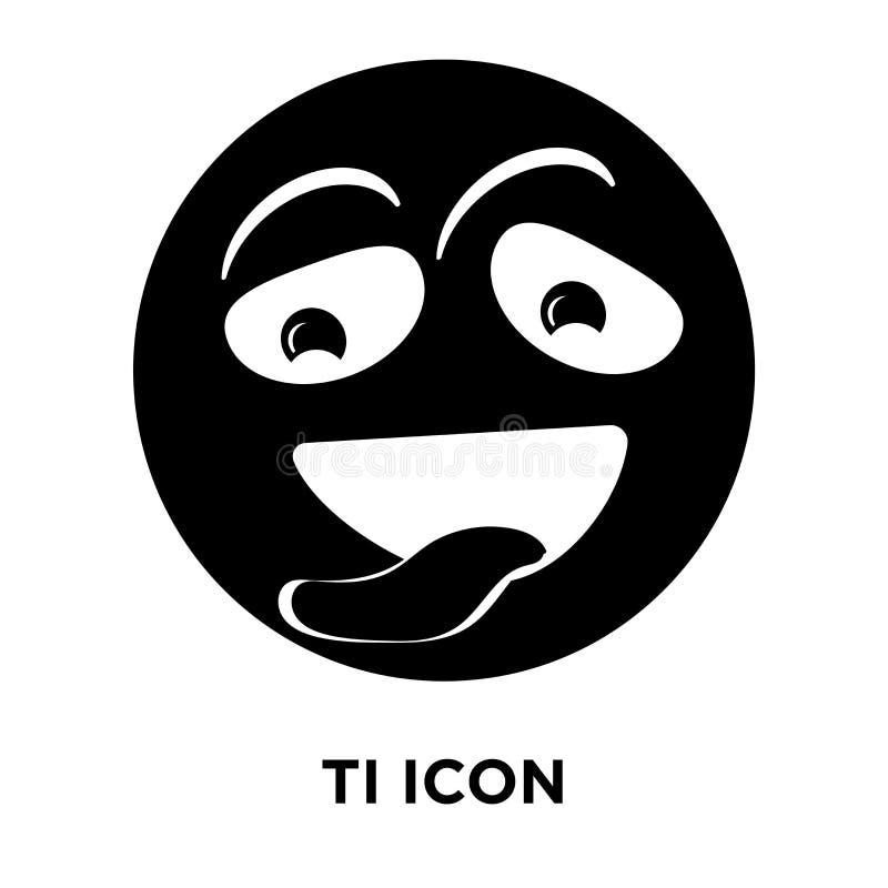 Vector cansado del icono aislado en el fondo blanco, concepto del logotipo de stock de ilustración