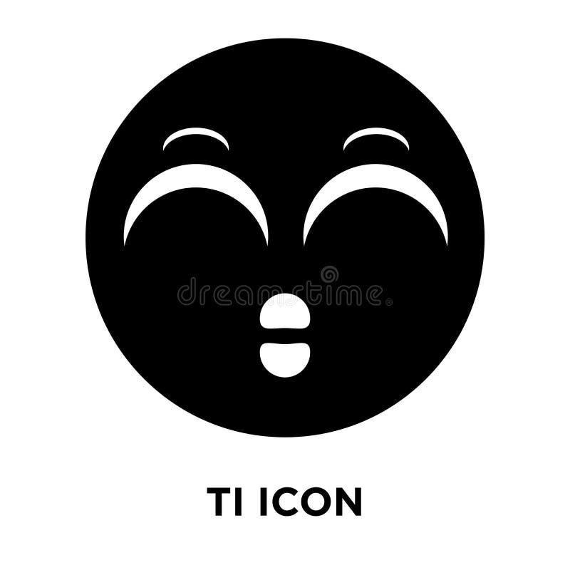 Vector cansado del icono aislado en el fondo blanco, concepto del logotipo de ilustración del vector