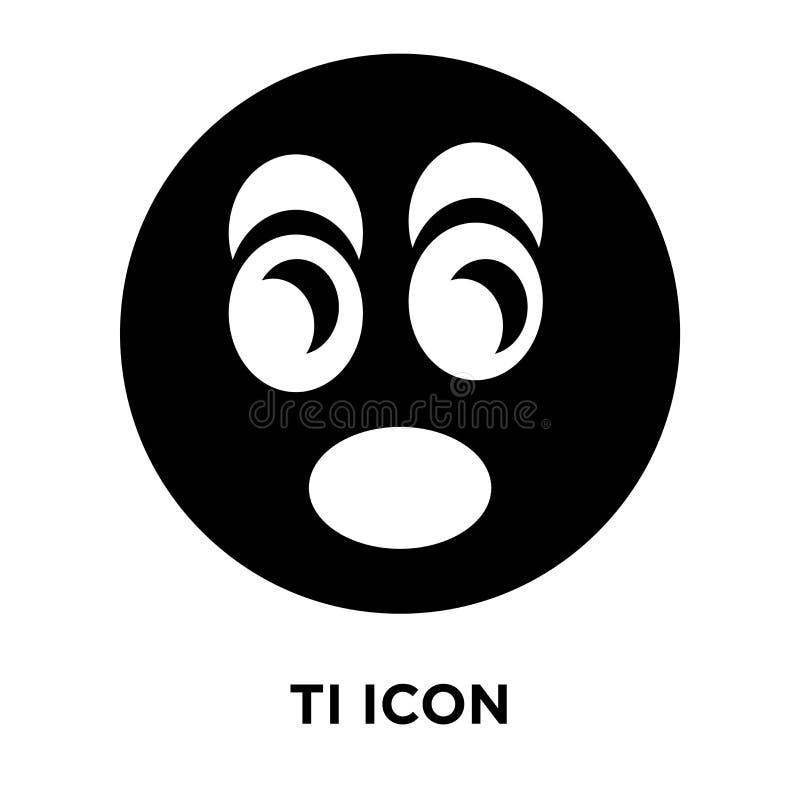 Vector cansado del icono aislado en el fondo blanco, concepto del logotipo de libre illustration