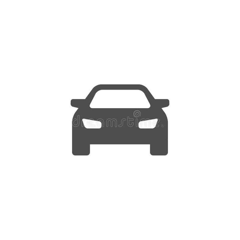 Vector Car Icon royalty free illustration