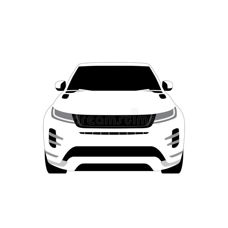 Vector car icon. stock photo