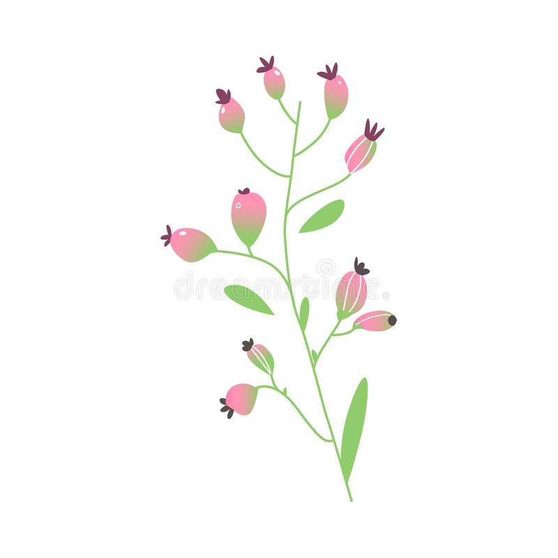 Vector cartoon abstract pink flower icon stock vector illustration download vector cartoon abstract pink flower icon stock vector illustration of forest card mightylinksfo