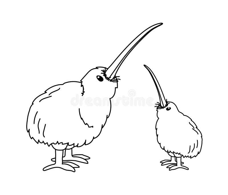 Kiwi Bird Coloring Stock Illustrations 33 Kiwi Bird Coloring Stock Illustrations Vectors Clipart Dreamstime