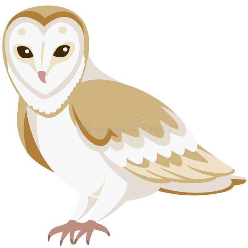 Free Vector Cartoon Barn Owl Royalty Free Stock Photo - 126593765