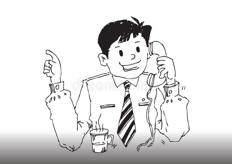Download Vector Cartoon Business Man Stock Vector - Image: 8547454