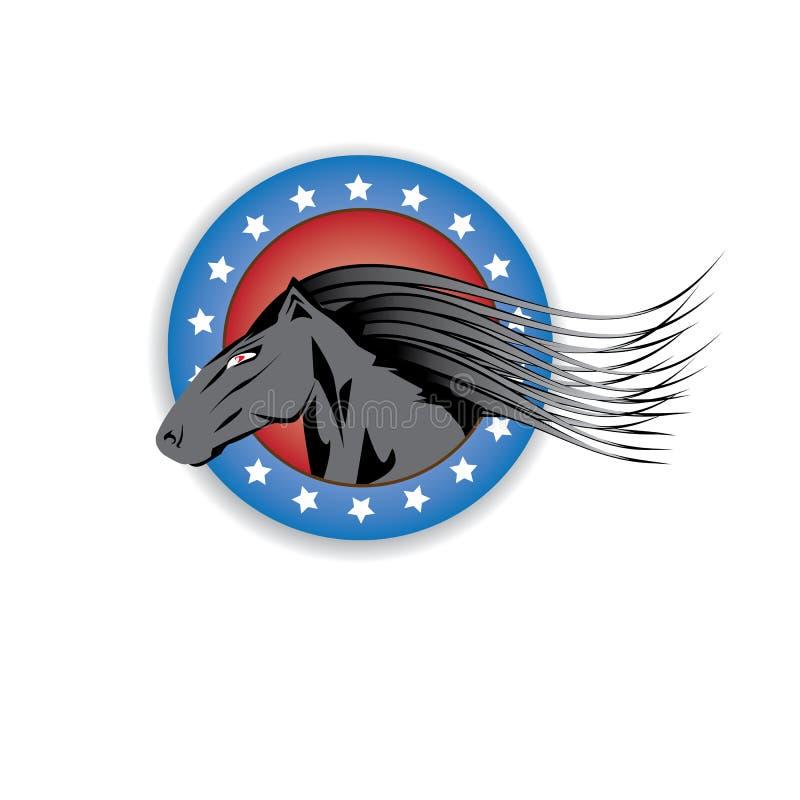 Download Vector Cartoon Horse Head. Stock Photo - Image: 35350600