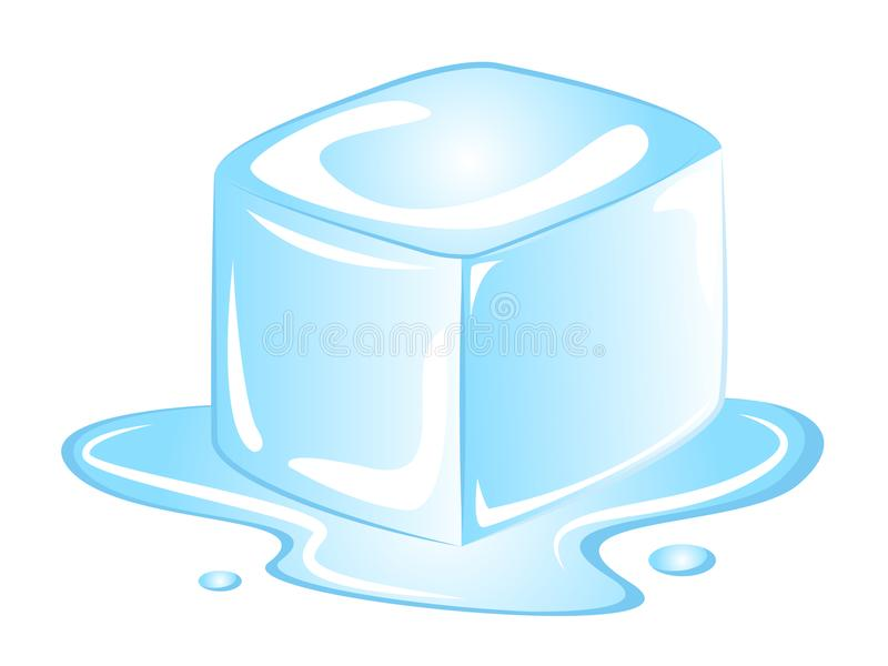 vector cartoon ice cube stock vector illustration of color 113700575 rh dreamstime com ice cube vector free download ice cube vector png